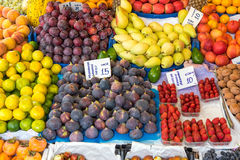 Colorful fruits for sale Royalty Free Stock Image