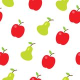 Colorful fruits seamless pattern Royalty Free Stock Photo