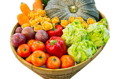 Colorful fruits and vegetables Royalty Free Stock Photography