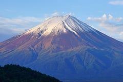 Fuji Mountain at lake Kawaguchi, Japan stock photos