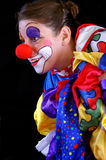 Colorful funky clown Royalty Free Stock Image