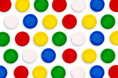 Colorful funny game chips. Royalty Free Stock Image