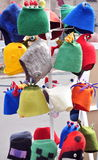 Colorful funny hats Stock Photo