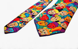 Colorful funny tie Royalty Free Stock Photos