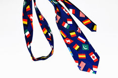 Colorful funny tie Royalty Free Stock Photo