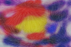 Colorful furry texture Royalty Free Stock Image