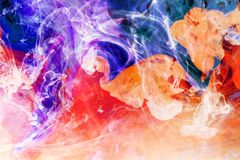 Colorful Fusion. Abstract Background. Colorful Fluids royalty free stock photos
