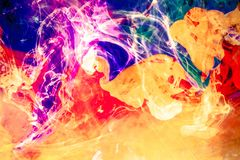 Colorful Fusion Background Royalty Free Stock Photo