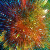Colorful galaxy clouds and big bang abstract star texture vector illustration