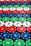Colorful Gambling Chips Royalty Free Stock Image