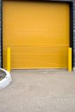 Colorful garage door Stock Photography