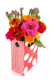 Colorful garden bouquet Stock Photography