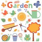 Colorful garden Stock Photography