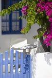 Colorful garden terrace Royalty Free Stock Photo