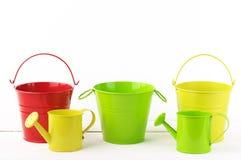 Colorful gardening set Stock Photo
