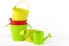 Colorful gardening set Royalty Free Stock Images