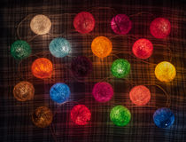 Colorful garland Stock Photo