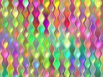 Colorful garland pattern Royalty Free Stock Photos