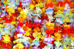 Colorful garlands. Filling the entire picture Royalty Free Stock Image