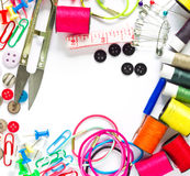 Colorful Garment accessories. Stock Photography