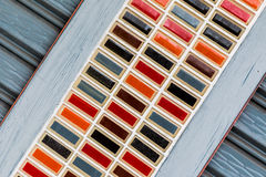 Colorful of gate abstract background Stock Photo