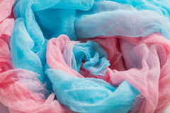 Colorful gauze background Stock Image