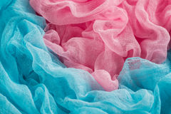 Colorful gauze background Stock Photos