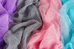 Colorful gauze background Stock Images