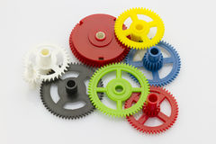 Colorful gear Royalty Free Stock Images