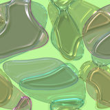 Colorful gel candy abstract Royalty Free Stock Photography
