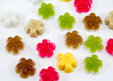 Colorful gelatin Stock Photo