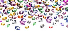 Colorful gems Stock Photo