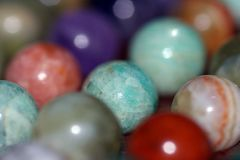 Colorful gems. Shallow DOF Stock Photography