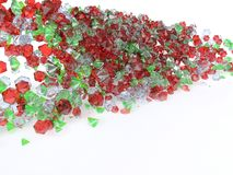 Colorful Gems Royalty Free Stock Photo