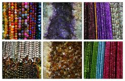 Colorful gemstones Stock Photo