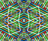 Colorful Geometric Abstract Pattern Royalty Free Stock Photo