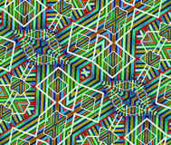 Colorful Geometric Abstract Pattern Royalty Free Stock Photos