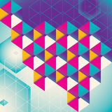 Colorful geometric abstraction. Stock Images