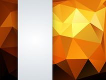 Colorful geometric background Stock Image