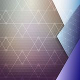 Colorful geometric background, abstract triangle Royalty Free Stock Photography