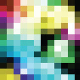 Colorful geometric background Royalty Free Stock Photography