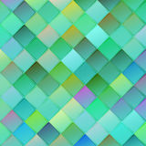 Colorful geometric background with rhombus on blurred gradient b Royalty Free Stock Photos