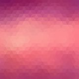 Colorful geometric background with triangles Royalty Free Stock Photos