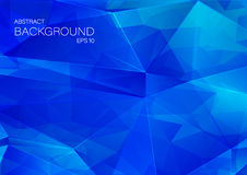 Colorful geometric background with triangles Royalty Free Stock Photo