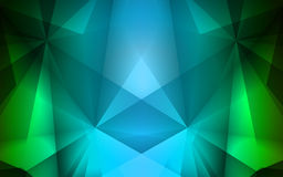 Colorful geometric background with triangles Stock Images