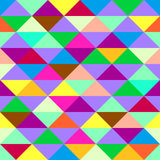 Colorful geometric background with triangles. Vector EPS 10 Royalty Free Stock Images