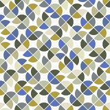 Colorful geometric background, vector squared abstract seamless Royalty Free Stock Images