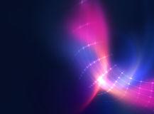 Colorful geometric circular tunnelshape abstract technology back Royalty Free Stock Photography