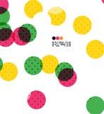 Colorful geometric modern design template Stock Photo