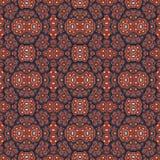 Colorful Geometric Motif Pattern Stock Photography
